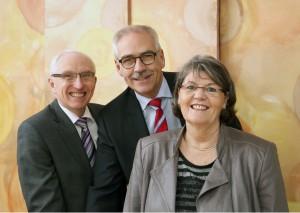 Der Vorstand der Stiftung SAPI des Café Sprungbrett in Hattingen.